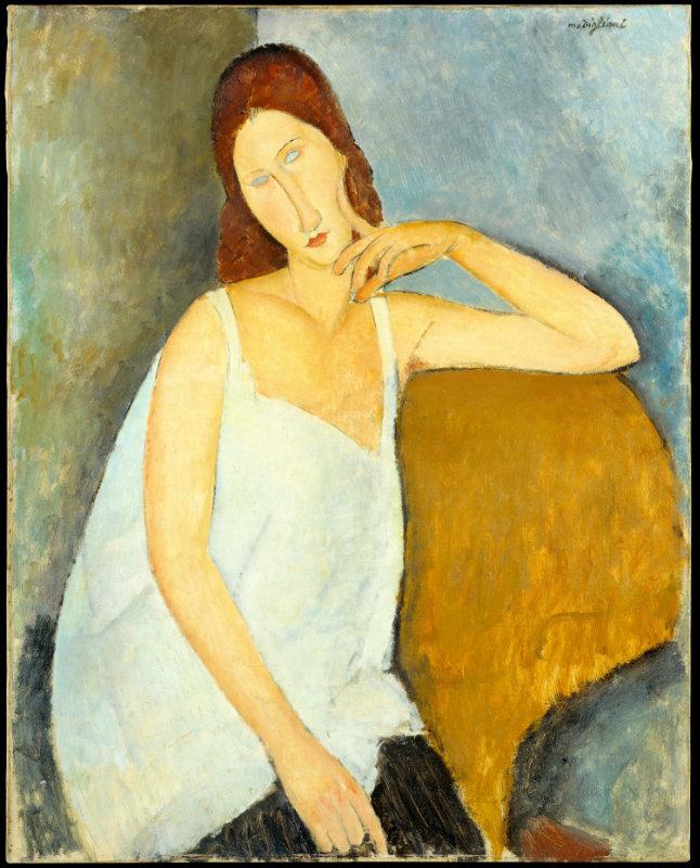 Amedeo Modigliani, 1919, Jeanne Hébuterne