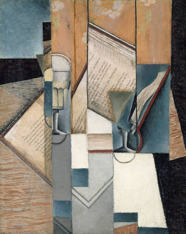 Juan Gris, The Book, 1913. Courtesy of The Musée d'Art Moderne de la Ville de Paris, Paris, France.